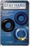 """1 1/4"""" Premium Cock Ring Set"""