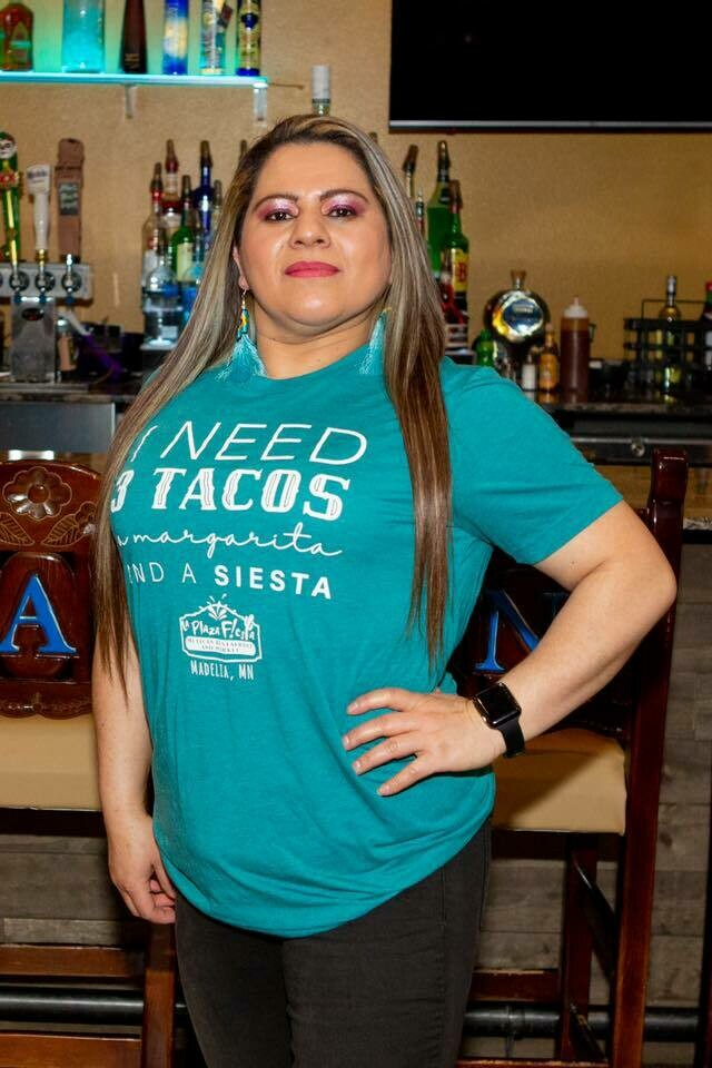 """3 Tacos"" Unisex T-shirt"