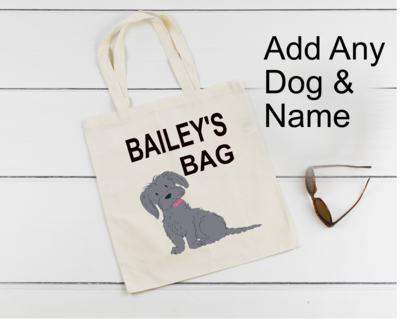 Personalised Dog Travel bags