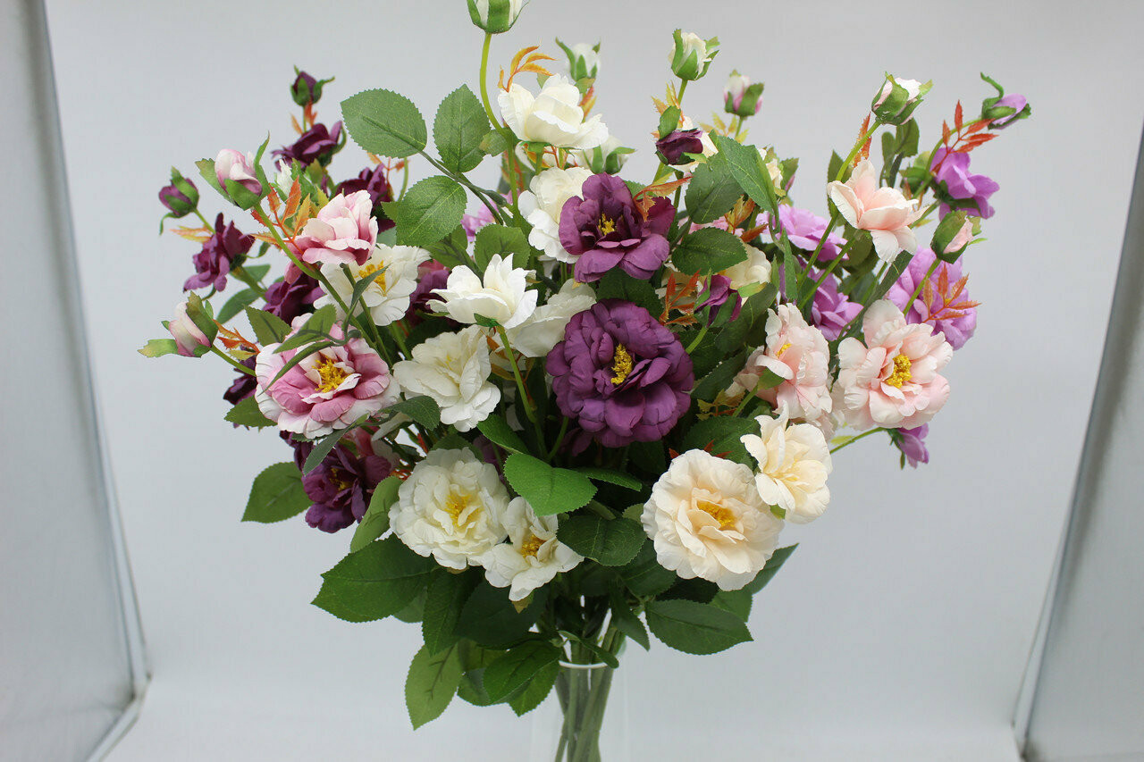 Розы китайские искусственные