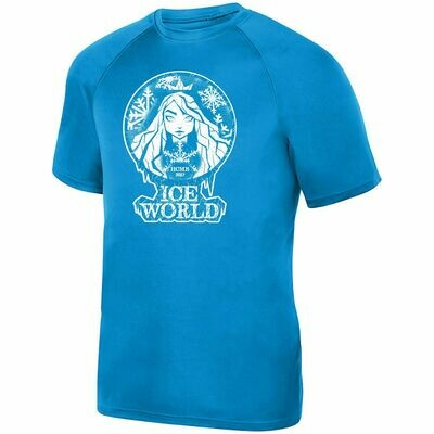 ICE World dri-fit shirt
