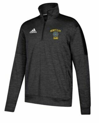 Dark Grey Adidas Quarter Zip