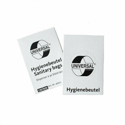 Hygienebeutel in Universalkartuschen