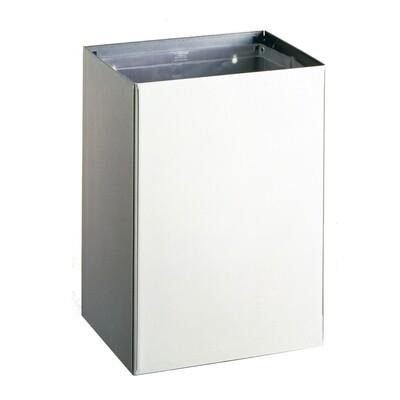Abfallbehälter, Edelstahl matt, 75.5 Liter Inhalt