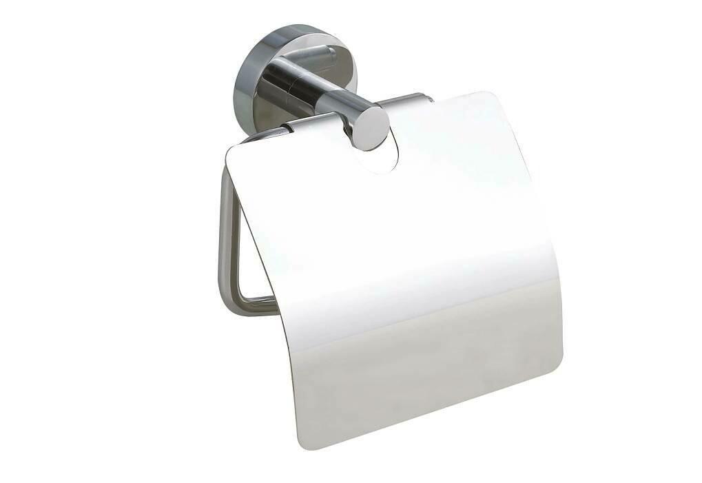NIE WIEDER BOHREN - WC-Papierrollenhalter mit Deckel