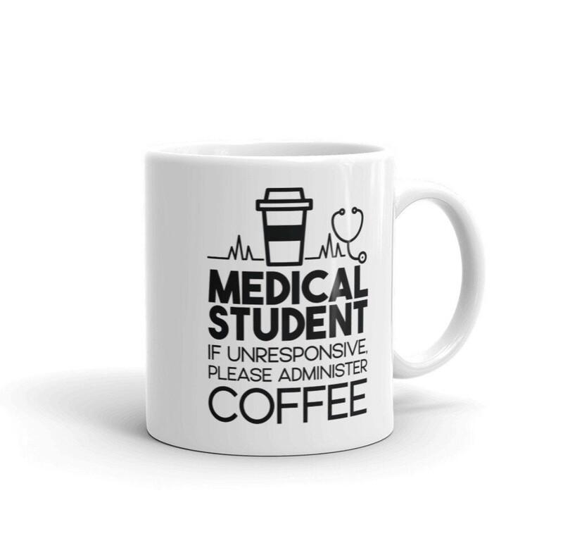 medical student. mug