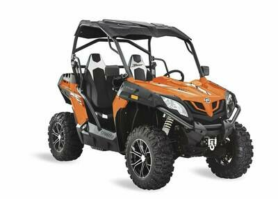 2019 CFMOTO ZFORCE 500 Trail EPS SSV 4x4 Orange