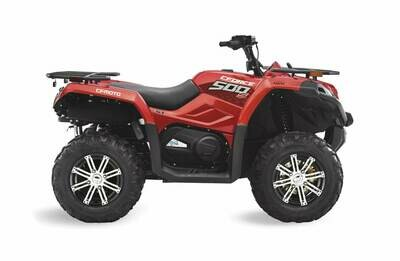 2019 CFMOTO CFORCE 500 S EPS ATV 4x4 Red