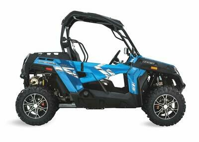 2019 CFMOTO ZFORCE 800 Trail EPS SSV 4x4 Blue