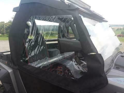 SXS Enclosures Black ODES UTVS Raider 2 Door Cab Enclosure