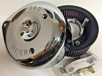 S&S Cycle Air Cleaner E-G Teardrop Chrome (17-0399, DS-289129)