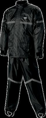 Nelson-Rigg Black SR-6000 Stormrider 2-Piece Rain Suit Small (2851-0181)