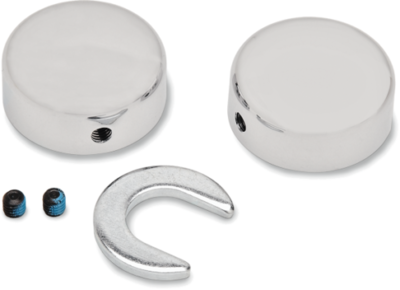 Drag Specialties Swingarm Pivot Bolt Covers (1303-0026)