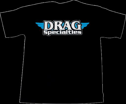Drag Specialties Logo T-Shirt Black XLarge (3030-3334)