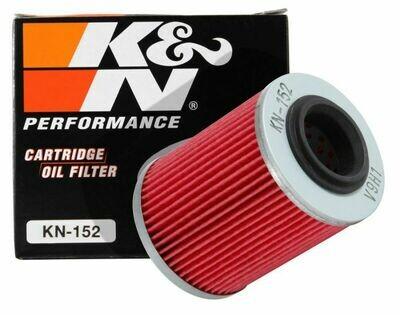K&N Cartridge Oil Filter, Aprilia, Can-Am, CFMOTO, Ski-Doo (KN-152)