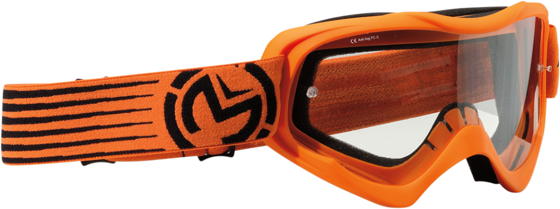 Moose Goggle Qualifier Slash Orange/Black (2601-2121)