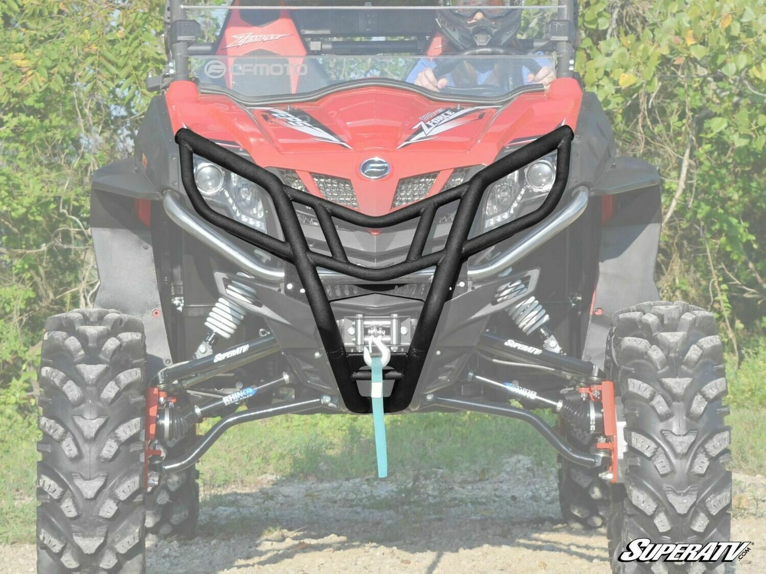 CFMOTO ZForce 500/800 Front Bumper Brush Guard by SuperATV (FB-CF-ZF800EX-00)