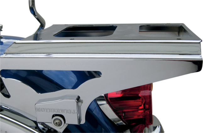 Motherwell 2-Up Detachable Tour-Pak Mounting Rack Chrome (MWL-426, 1510-0191)