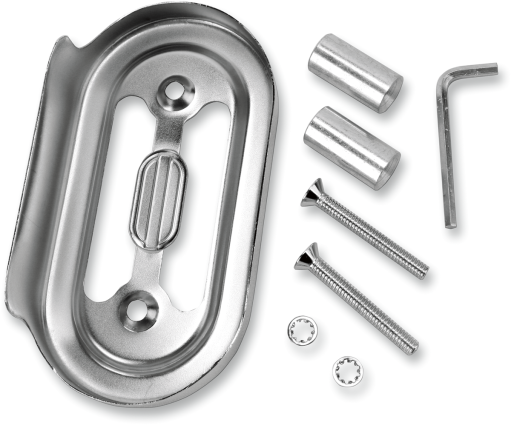 Drag Specialties Chrome Regulator Cover, 91-03 FXD (7805-0013)