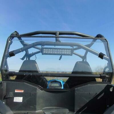 3 Star Rear Lexan Windshield - CFMOTO ZFORCE 500 | 800 | 800EX | 1000 (CFMMZ8-LBK)