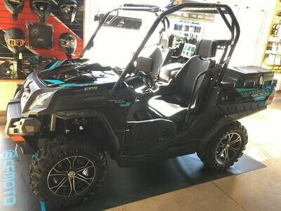 2019 CFMOTO UFORCE 800 EPS UTV 4x4 Black
