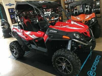 2019 CFMOTO ZFORCE 800 EX EPS SSV 4x4 Red