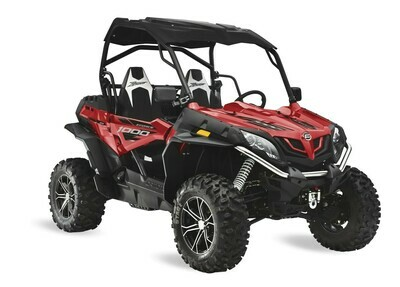 2019 CFMOTO ZFORCE 1000 EPS SSV 4x4 Red