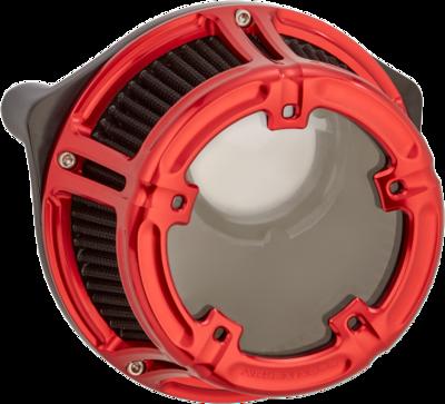 Arlen Ness Method Air Cleaner Red, 08-16 FLT (18-171, 1010-2531)