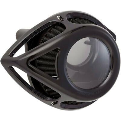 Arlen Ness Air Cleaner Clear Tear Black, 08-16 FLT (18-977, 1010-2555)