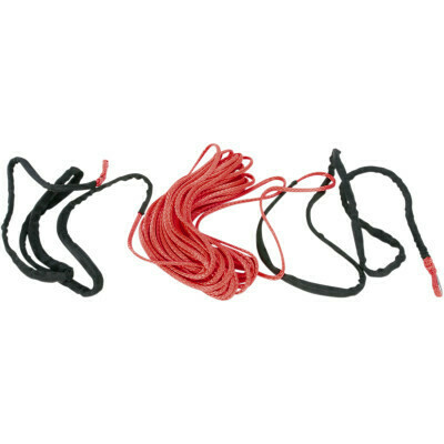 "Moose Synthetic Winch Rope 3/16"" x 50' Red (4505-0612)"