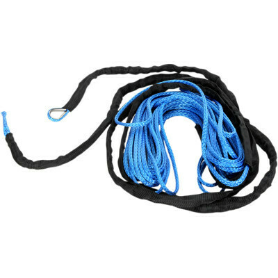"""Moose Synthetic Winch Rope 1/4"""" x 50' Blue (4505-0616)"""