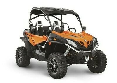 2020 CFMOTO ZFORCE 800 EX EPS SSV 4x4 Orange