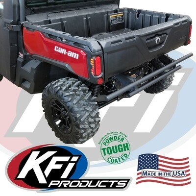 KFI Rear Bumper Can-Am Defender, Black (101610, 10-1610)
