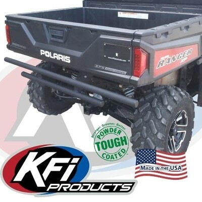 KFI Rear Bumper Ranger Full Size, Black (101535, 10-1535)