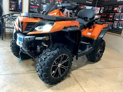 2019 CFMOTO CFORCE 800 XC EPS ATV 4x4 Orange