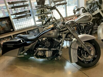2002 Harley-Davidson FLHR Road King Black/Silver