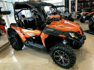 2019 CFMOTO ZFORCE 800 Trail EPS SSV 4x4 Orange
