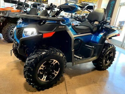 2020 CFMOTO CFORCE 600 Touring EPS ATV 4x4 Blue