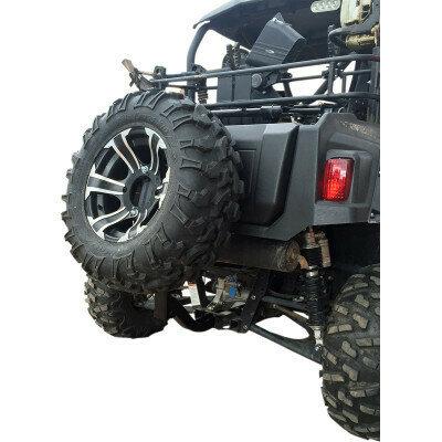 """Moose Spare Tire Mount 2"""" Receiver Hitch, ATV/UTV (1512-0222)"""