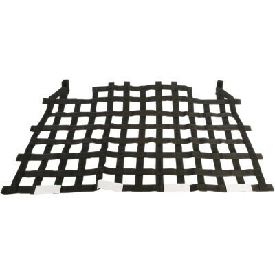 Polaris RZR Kimpex Net Rear Panel Big Mesh Black (159400, 0521-1629)