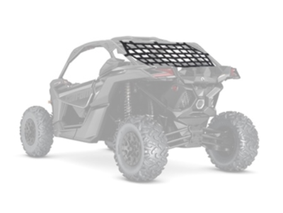Can-Am Maverick X3 Kimpex Net Rear Panel Big Mesh Black (157010, 0521-1631)
