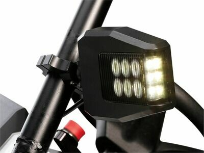 Moose UTV LED Lighted Sideview Mirrors, 1.75