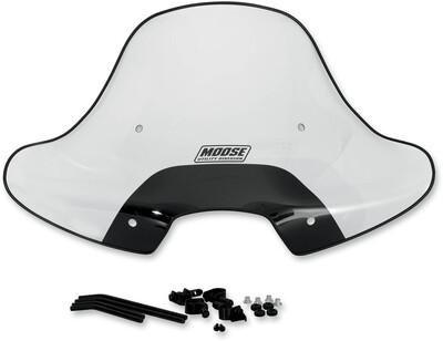 Moose ATV Windshield, w/Headlight Cutout (2317-0193)