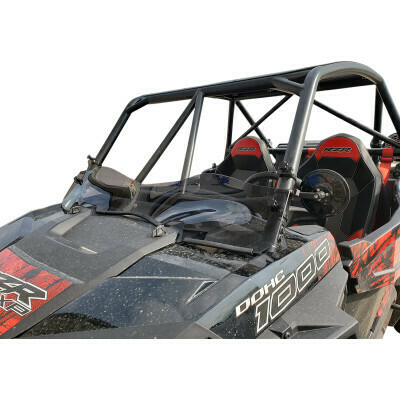 Polaris RZR 14-18 Klock Werks R-Spec Flare Dark Smoke Windshield (KW05-01-0529-DS, 2317-0424)