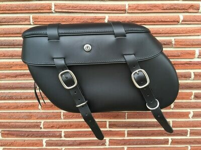 Leather Pros Sportster Saddlebags w/Long Straps Classic 3000 (LP3007)