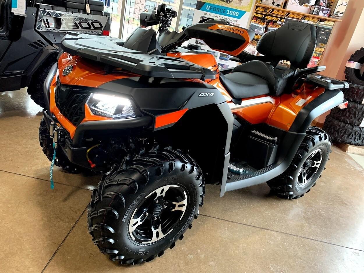 2020 CFMOTO CFORCE 600 Touring EPS ATV 4x4 Orange