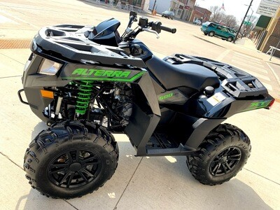 2016 Arctic Cat Alterra 500 XT EPS ATV 4x4 Black