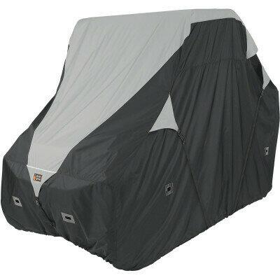 Classic QuadGear UTV XLarge Storage Travel Cover, Black/Grey (18-071-050401-0, 4002-0087)