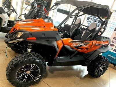 2019 CFMOTO ZFORCE 1000 EPS SSV 4x4 Orange