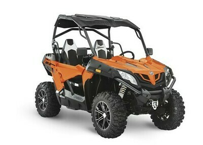 2020 CFMOTO ZFORCE 800 Trail EPS SSV 4x4 Orange
